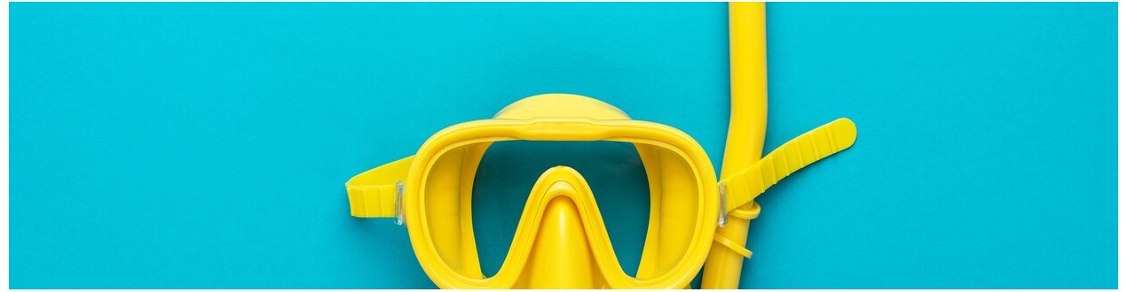 Máscaras + tubo de snorkel - Scubatic